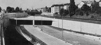 Stadtautobahn in Friedenau