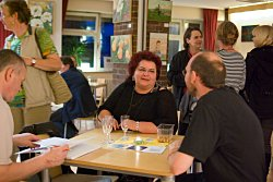 Vernissage im Stadtschloss Moabit