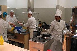 Viel Arbeit für das Küchenpersonal