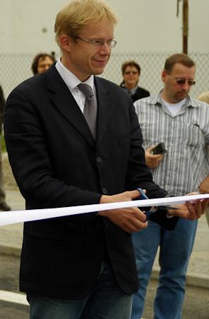 Eröffnung durch Stadtrat Gothe