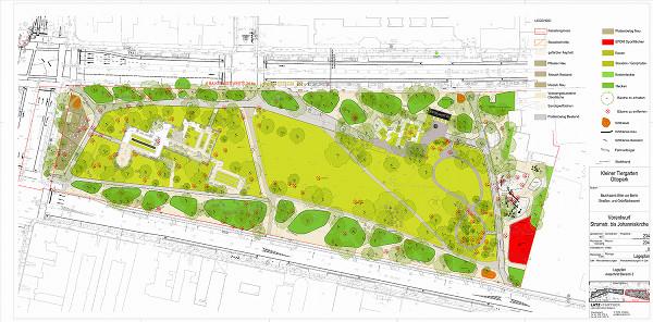 Vorentwurfsplanung Kleiner Tiergarten Ost (Bild anclicken für Download)