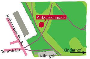 Parkgeschmack-Standort