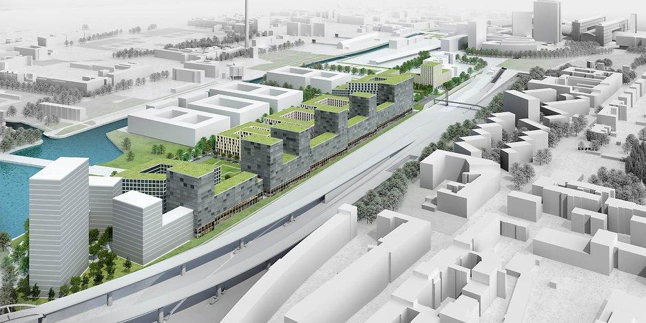 Visualisierung der Quartier Heidestraße GmbH