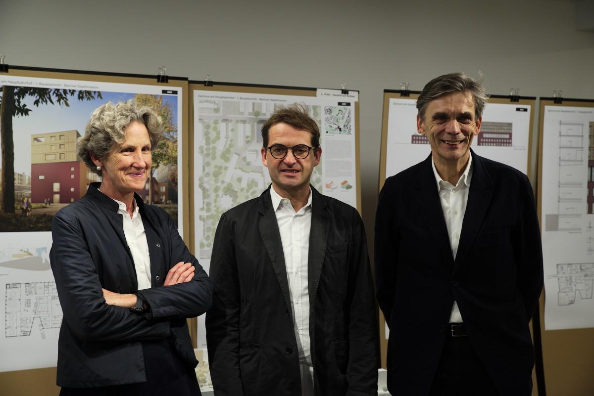 Foto von Louisa Hutton, Konrad Opitz und Matthias Sauerbruch